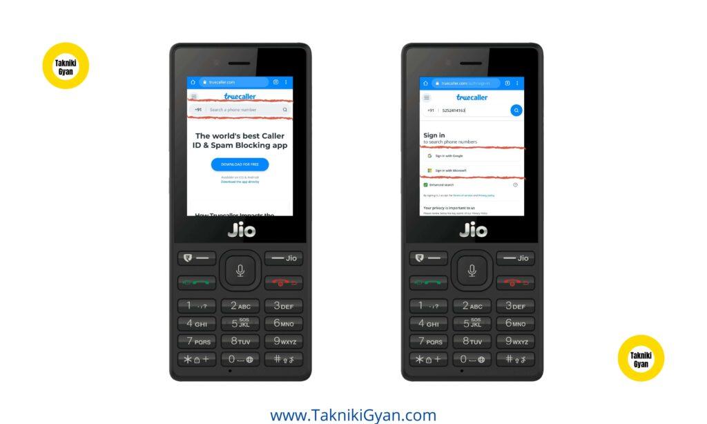 Jio Phone में Truecaller कैसे Download करे