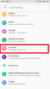 How to remove playstore id in hindi